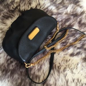 New Marc By Marc Jacobs Black Mini Crossbody Bag